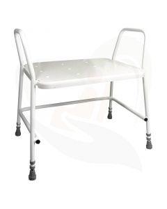 Met de Douchestoel XXL kunt u weer met vertrouwen douchen zonder uw benen te belasten.