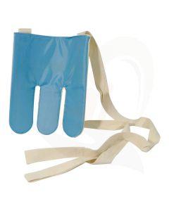 De sok- en kousaantrekker maakt het aantrekken van sokken en kousen eenvoudig.