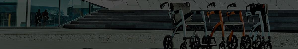 Rollators assortiment bij Zorg Totaal Ede
